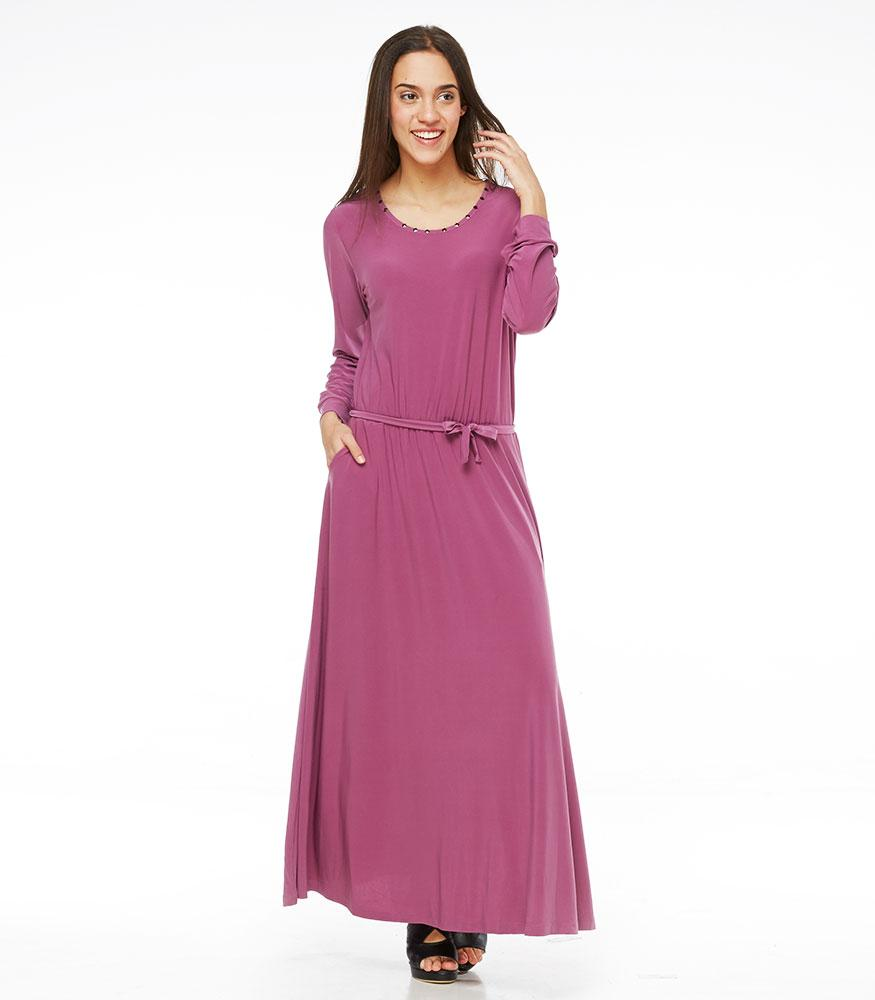 * Réf.125563* CALAIS DRESS PURPLE S (PROMO)