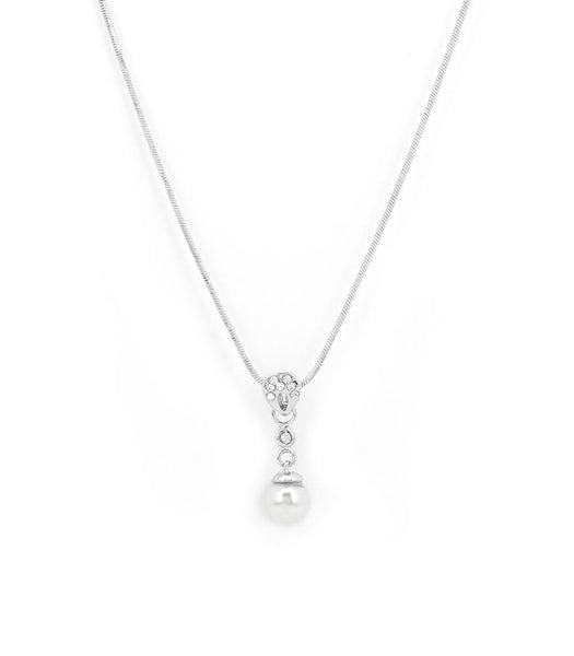 * Réf.152059* FLETA NECKLACE SILVER (PROMO)