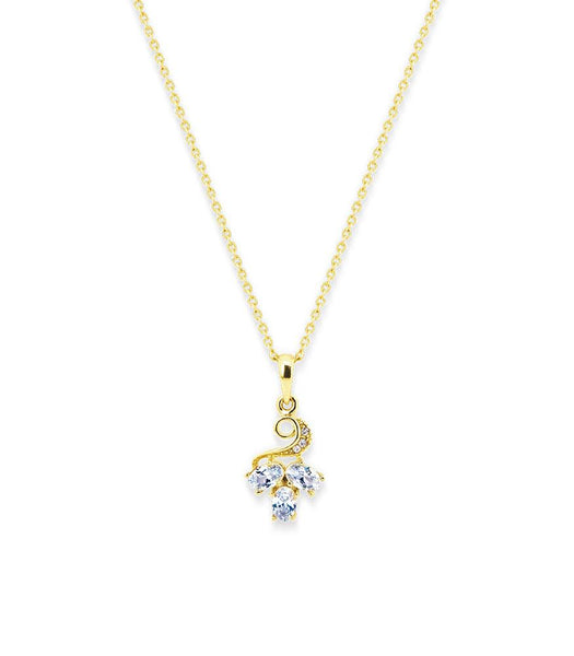 * Réf.152055* FLAVIA NECKLACE GOLD (PROMO)