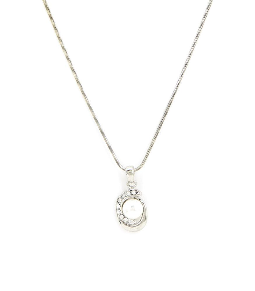 GAYNOR NECKLACE SILVER