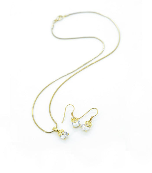 * Réf.152419* LULA NECKLACE SET GOLD (PROMO)