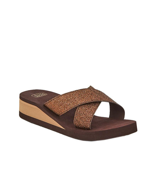 BETTY EVA SANDAL BROWN