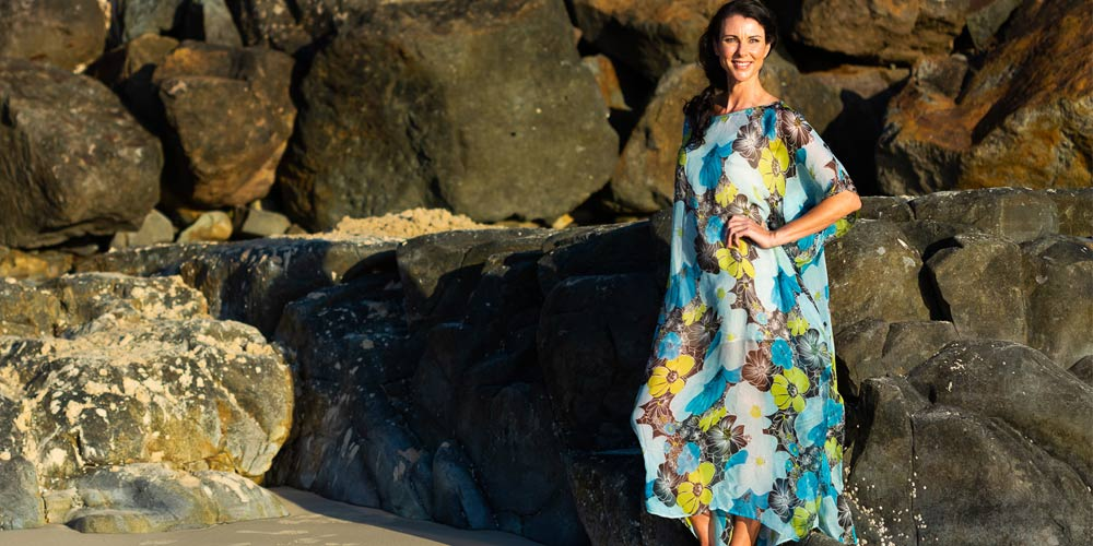 Caring For Clothes, Kua Bay Long Kaftan Dress, Laloom Kaftans