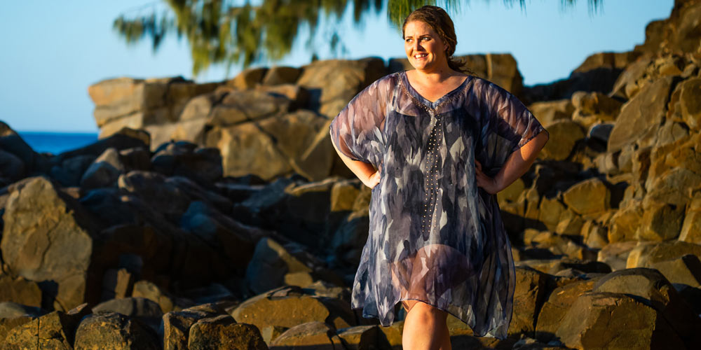 Dresses For Petite Women, Waimoka Kaftan Dress, Laloom Kaftans