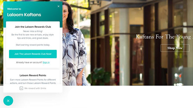 How To Become A Member, Laloom Reward Points Program, Laloom Kaftans