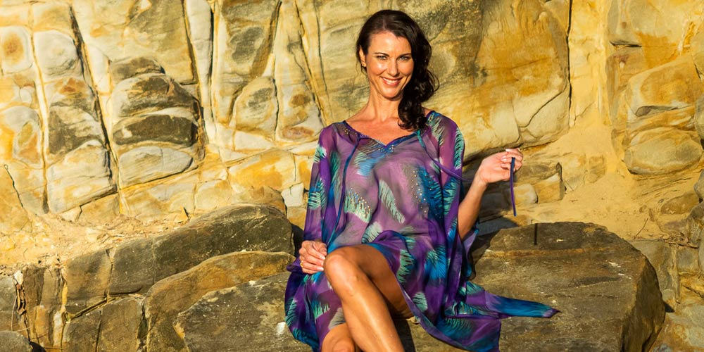 Care For Your Clothes, Makena Short Kaftan Dress, Laloom Kaftans