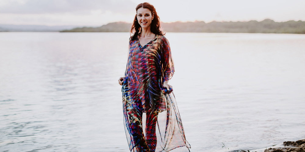 Kaftan Dresses & Beach Weddings, The Cannes Long Kaftan Dress, Laloom Kaftans