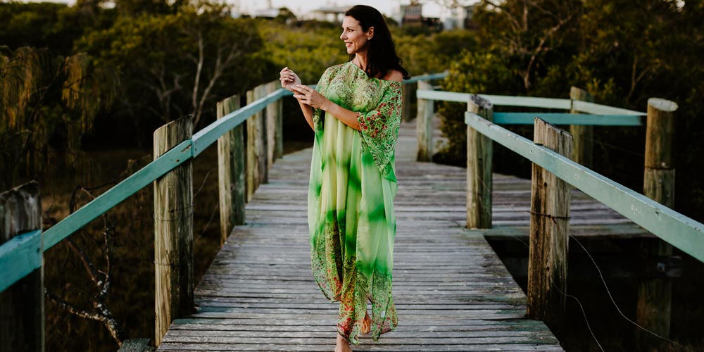 Kaftans & Beach Weddings, Bondi Beach Long Kaftan Dress, Laloom Kaftans