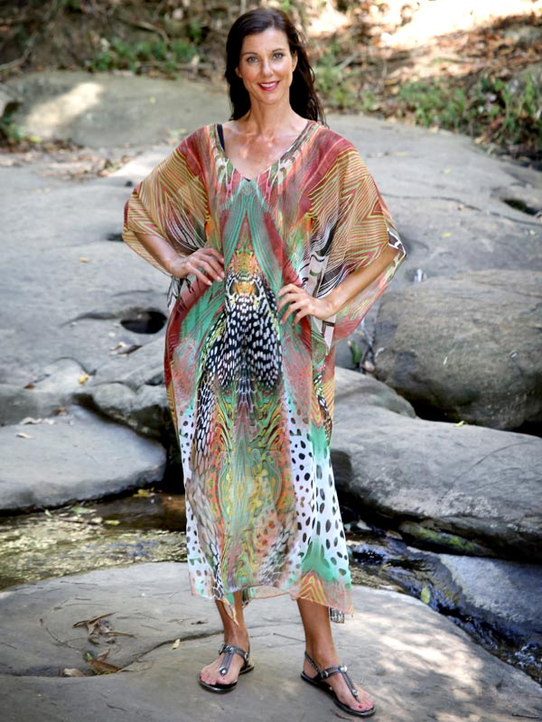 Shopping Online At Laloom Is Safe & Secure, Warrior Princess Kaftan, Laloom Kaftans