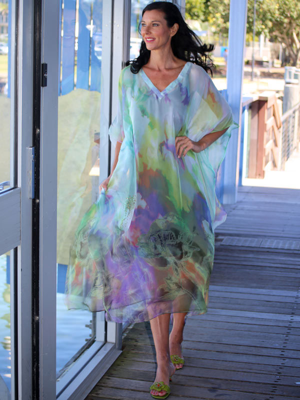 Semi formal dress code, Make A Wish Kaftan Dress, Laloom Kaftans