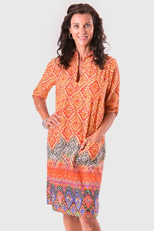 Annie tunic in cotton