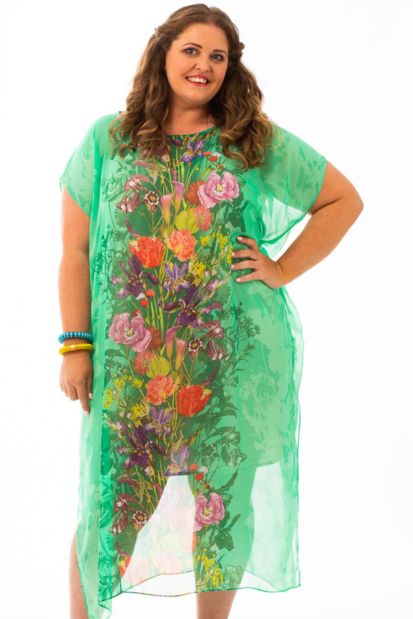Coconut Island Long Kaftan Dress, Laloom Kaftans