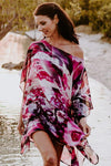 Dreamtime Beach kaftan in silk