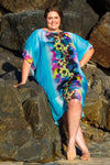 Hapuna Beach Midi Dress Kaftan