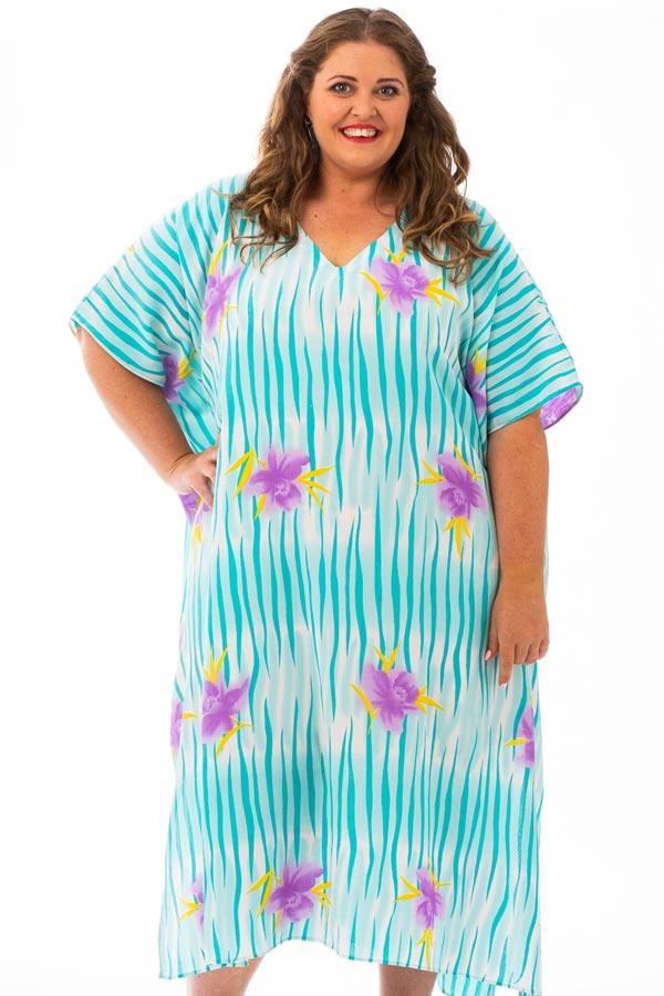 Hawaii Long Kaftan Dress, Laloom Kaftans