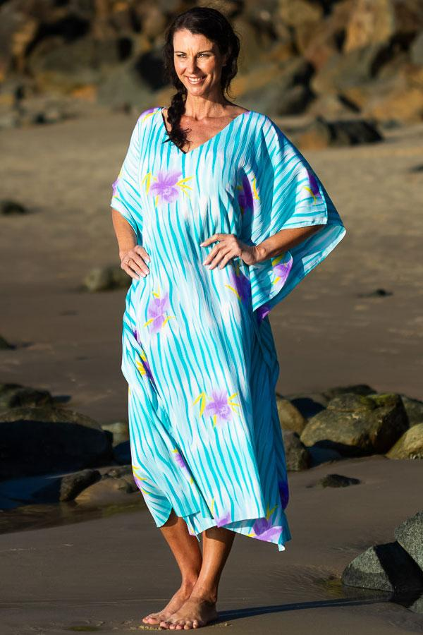 Hawaii Long Kaftan, Laloom Kaftans