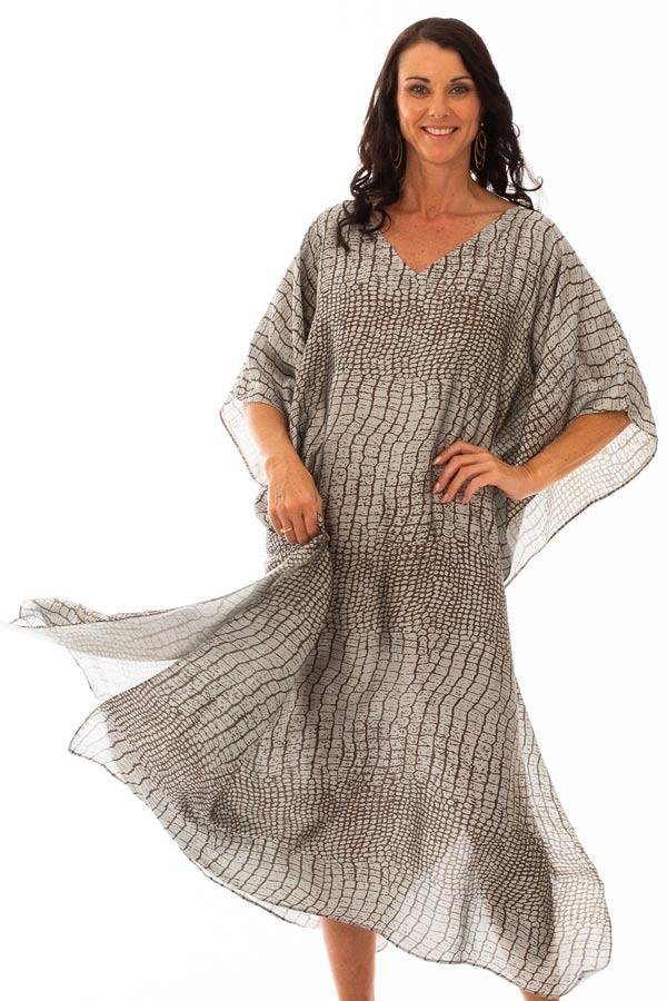 Kahana Long Kaftan Dress, Laloom Kaftans