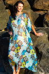 Kua Bay Long Kaftan Dress, Laloom Kaftans