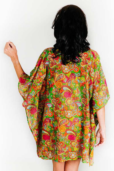 Larvotto Beach cotton kaftan