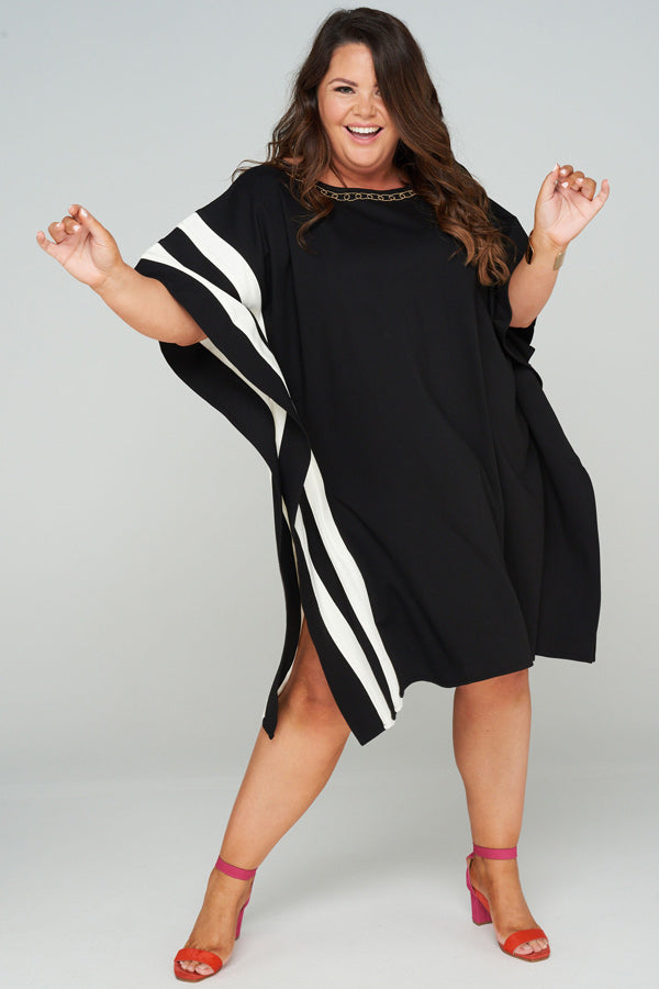 Maia Mid Length Kaftan Dress, Laloom Kaftans