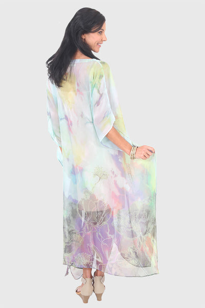 Make A Wish kaftan in chiffon
