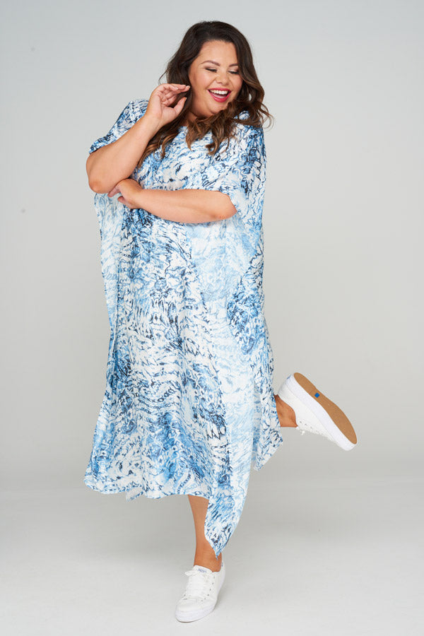 Rhea Long Kaftan Dress, Laloom Kaftans