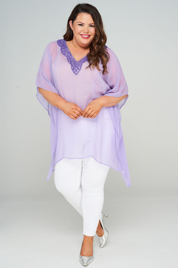 Theia Short Kaftan Dress, Laloom Kaftans