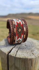 The Cheyenne beaded cuff