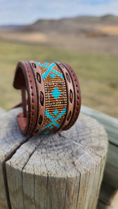 The desert beaded cuff