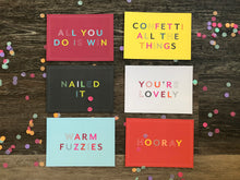 Load image into Gallery viewer, Awesome Affirmations Postcard Set