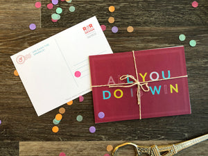 Awesome Affirmations Postcard Set