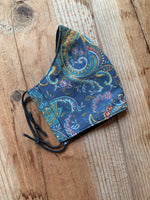 Vintage paisley face mask