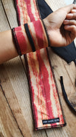 Real Bacon wrist wraps for crossfit weightlifting