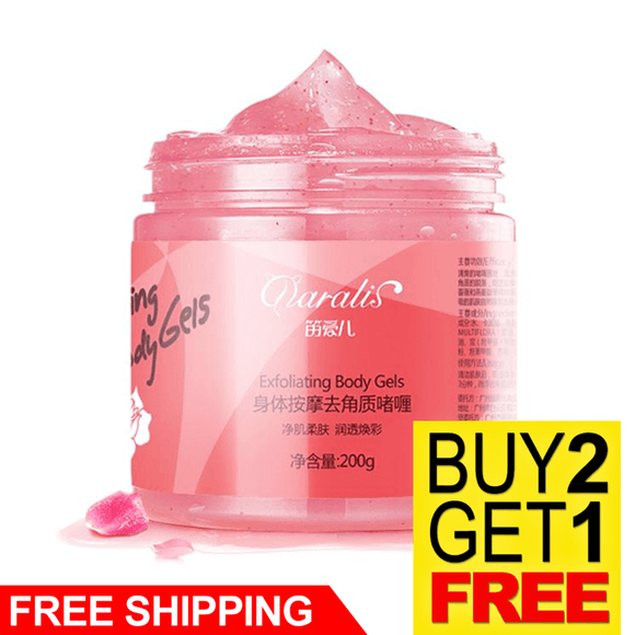 Body Massage Exfoliating Scrub Cream Gel