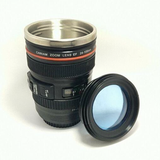 Camera Lens Self Stirring Mug