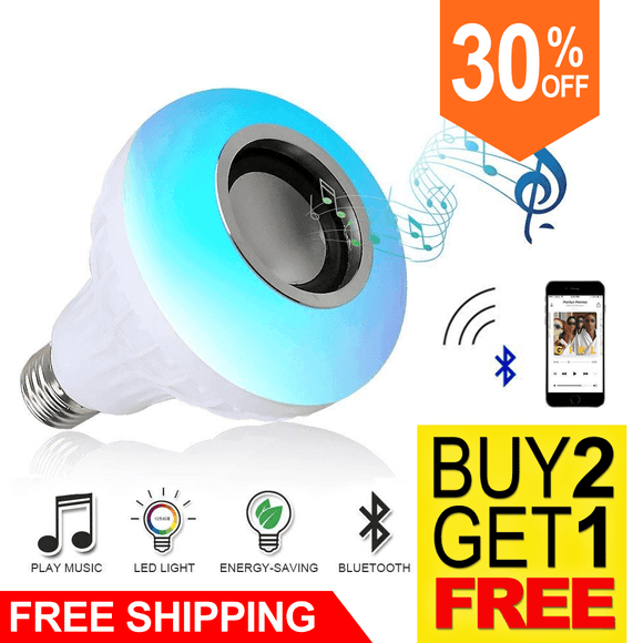 Wireless Bluetooth Speaker Smart Led Lamp