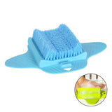 Foot Brush Clean and Massage Your Feet Without Bending Over