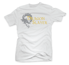"Load image into Gallery viewer, ""Dragon Slayer"" Custom Printed T-Shirt"