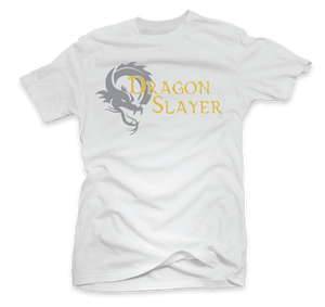 """Dragon Slayer"" Custom Printed T-Shirt"