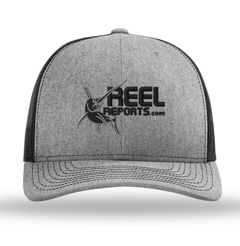 ReelReports Performance Snapback Hat (Grey)