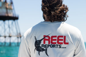 REELREPORTS LONG SLEEVE - SILVER