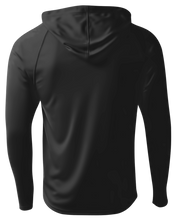 Load image into Gallery viewer, Men's Performance Long Sleeve Hood - Black