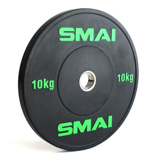 SMAI - HD Bumper Plates Set - 5 pairs of 10kg (100kg) - MMA DIRECT