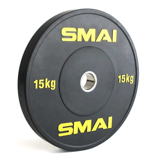 SMAI - HD Bumper Plates (Pair) - 15kg - MMA DIRECT