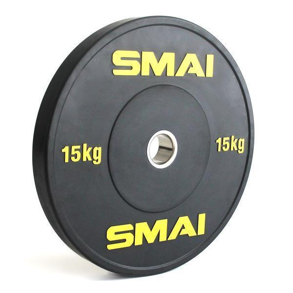SMAI - HD Bumper Plates Set - 5 pairs of 15kg (150kg) - MMA DIRECT