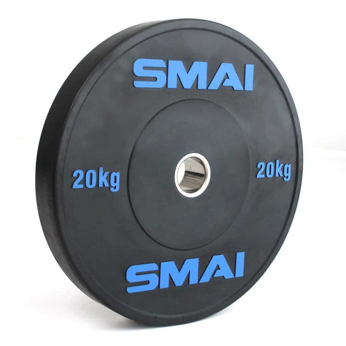 SMAI - HD Bumper Plates (Pair) - 20kg - MMA DIRECT
