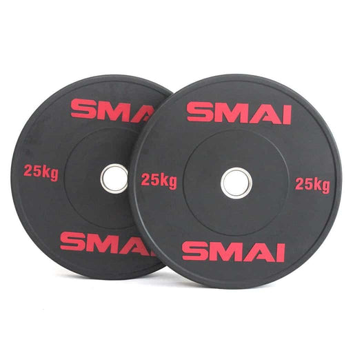 SMAI - HD Bumper Plates (Pair) - 25kg - MMA DIRECT