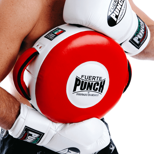 Punch Mexican Fuerte Round Shield Genuine Leather Lightweight - MMA DIRECT