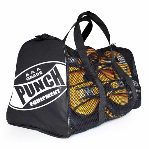 PUNCH 2ft Mesh Duffle Carry Sports Gear Gym Bag - MMA DIRECT