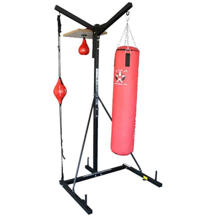 Mani 3 Way Boxing Stand Station Boxing MMA Thai Training MBS-101 - MMA DIRECT